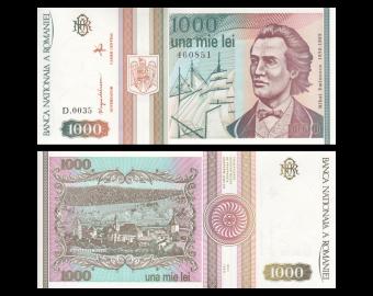Romania, P-102, 1 000 lei, 1993