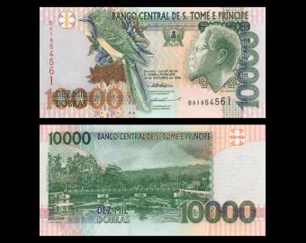 SÃO TOMÉ E PRÍNCIPE, P-66b, 10.000 dobras, 1996