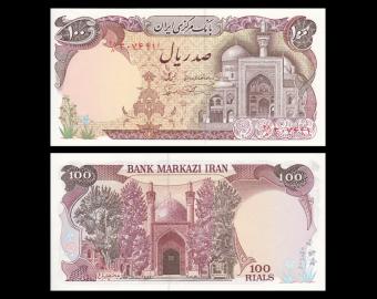 I, p-135, 100 rials, 1982