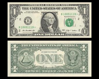 USA, P-530B, 1 dollar, New York, 2009