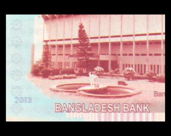 Bangladesh, P-63, 100 taka, 2013
