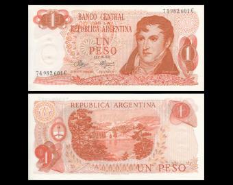 Argentina, P-287(3), 1 peso, 1970-73