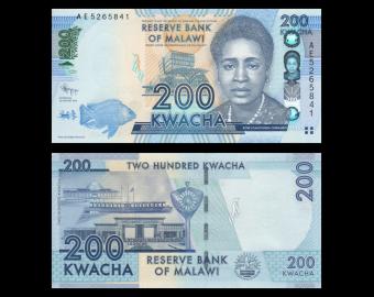 Malawi, P-60a, 200 kwacha, 2012
