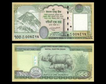 Nepal, p-80b, 100 rupees, 2019