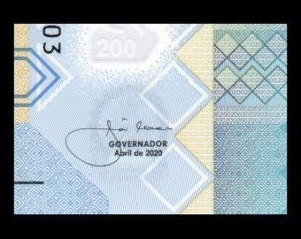 Angola, P-160, 200 kwanzas, 2020, polymère