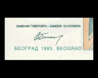 Yugoslavia, P-131, 500 000 dinara, 1993