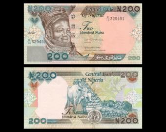 Nigeria, P-29t, 200 naira, 2020