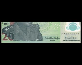 Nigeria, P-34p, 20 naira, Polymer, 2020