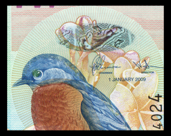 Bermuda, P-57c, 2 dollars, 2009