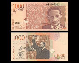 Colombia, P-456q, 1 000 pesos, 2014