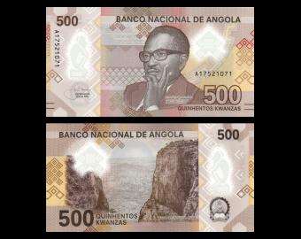 Angola, P-161, 500 kwanzas, 2020, polymer