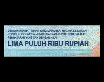 Indonesia, P-159a, 50000 rupiah, 2016