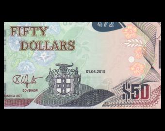 Jamaica, P-94a, 50 dollars, 2013