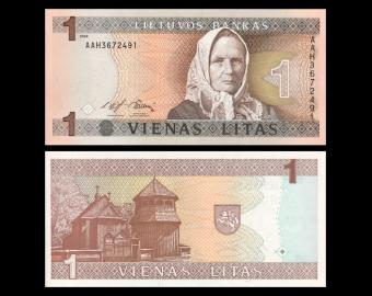 Lithuania, 1 litas, 1994