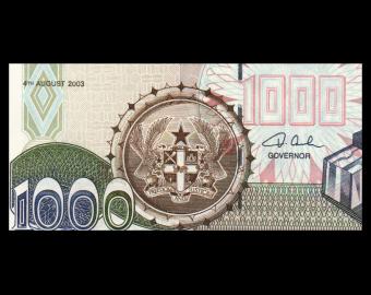 Ghana, P-32i, 1.000 cedis, 2003