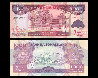 Somaliland, P-20b, 1000 shillings, 2012