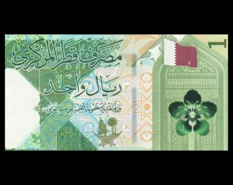 Qatar, P-32, 1 riyal, 2020