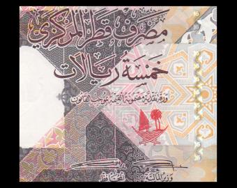 Qatar, P-33, 5 riyals, 2020