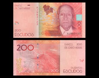 Cape Verde, P-76, 200 escudos, 2019