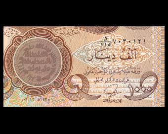 Iraq, P-099, 1000 dinars, 2013