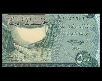 Iraq, P-098Ab, 500 dinars, 2018