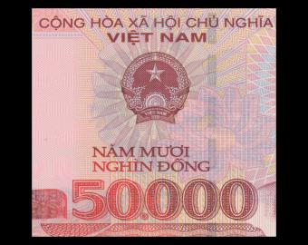 VietNam, P-121l, 50000 dông, 2017, polymer