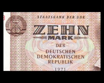 Germany , RDA, P-28b, 10 mark, 1971