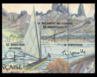 France-Institut d'Emission d'Outre-Mer, P-1e, 500 francs, 2003