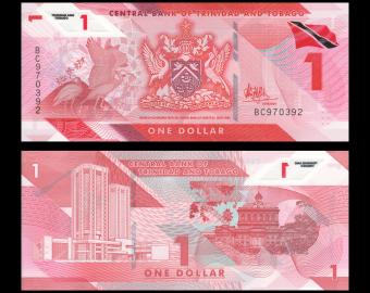 Trinidad & Tobago, P-60, 1 dollar, polymer, 2020