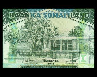 Somaliland, P-21d, 5 000 shillings, 2015