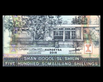 Somaliland, P-06i, 500 shillings, 2016