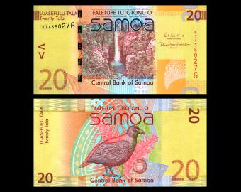 Samoa, P-40d, 20 tala, 2019