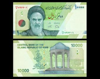 I, P-159c, 10000 rials, 2019