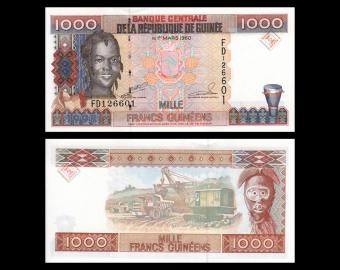 Guinea, P-37, 1.000 francs, 1998