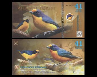 Atlantic Forest, NonLegal, 41 AvesDollars, 2019