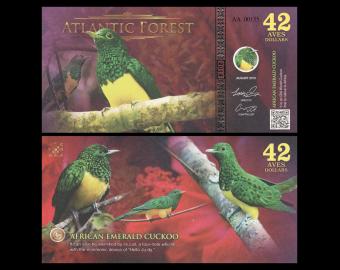 Atlantic Forest, NonLegal, 42 AvesDollars, 2019