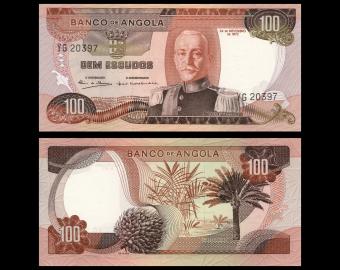 Angola, P-101, 100 escudos, 1972