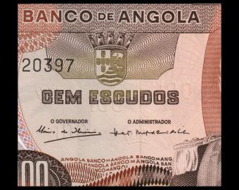 Angola, P-101, 100 escudos, 1972, PresqueNeuf / a-UNC