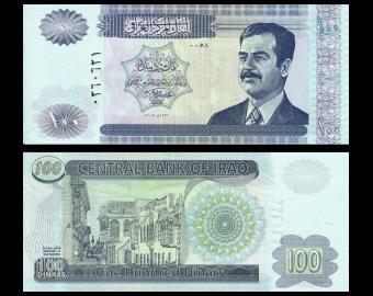 Iraq, P-87, 100 dinars, 2002