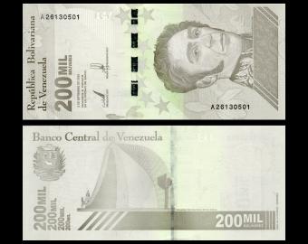 Venezuela, P-112a, 200 000 bolívares soberanos, 2020