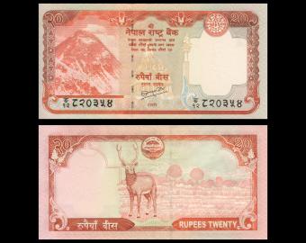 Nepal, P-62b, 20 rupees, 2010