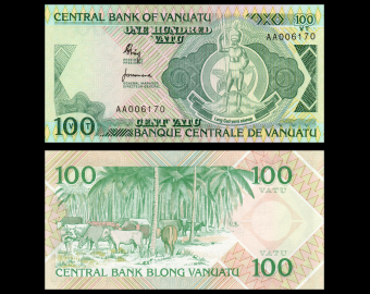 Vanuatu, 200 vatu, 2007