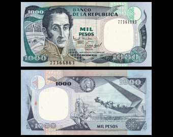 Colombia, P-438e, 1 000 pesos, 1995