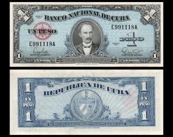 C, C, P-077b, 1 peso, 1960