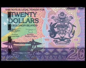 Solomon Islands, P-34b, 20 dollars, 2017