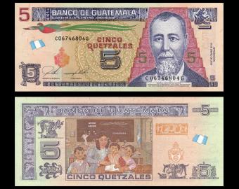 Guatemala, P-new, 5 quetzales, 2018