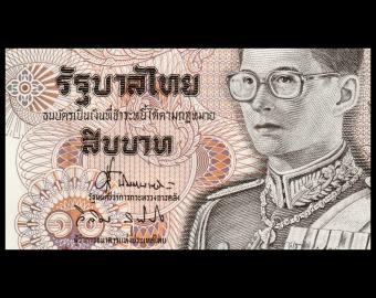 Thailand, P-098, 10 baht, 1995