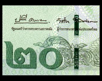 Thailand, P-135b3, 20 baht, 2018