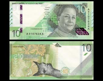 Peru, P-New, 10 soles, 2019