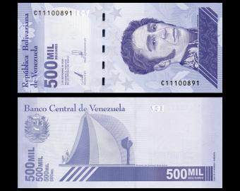 Venezuela, P-113a, 500 000 bolívares soberanos, 2020